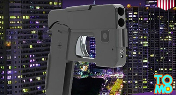 Ideal Conceal, smartphone, handgun, Smartphone-Shaped Handgun