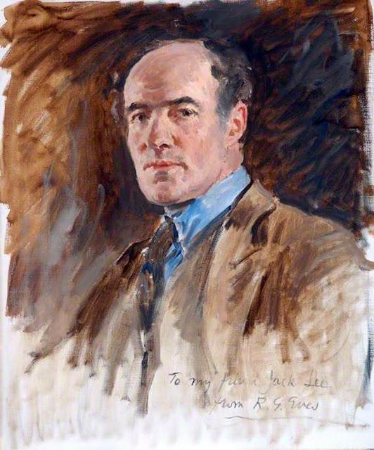 Reginald Grenville Eves, Self Portrait, Portraits of Painters, Fine arts, Grenville Eves
