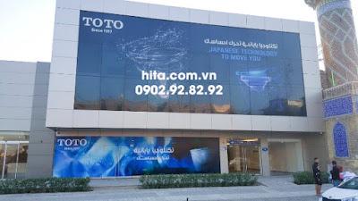 Showroom thiết bị vệ sinh TOTO chất lượng 100% nhập khẩu 2018 - 2019