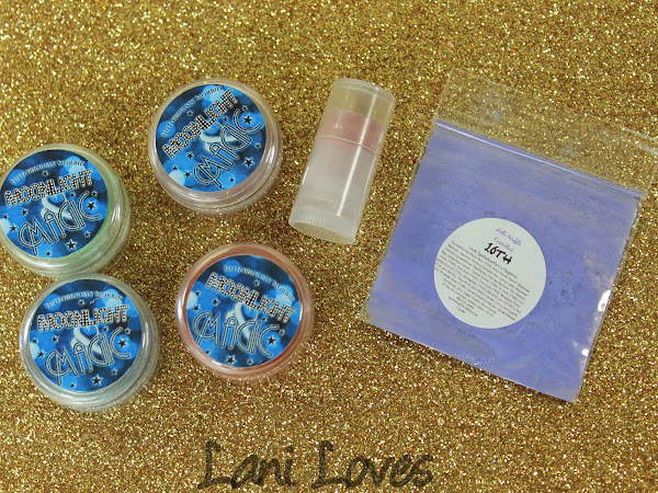 Notoriously Morbid August 2015 Vanishing Cabinet Moonlight & Magic Swatches & Review