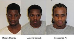 Teenager Nigerian boy, his gang,  jailed for 19 knife and acid attack robberies in UK