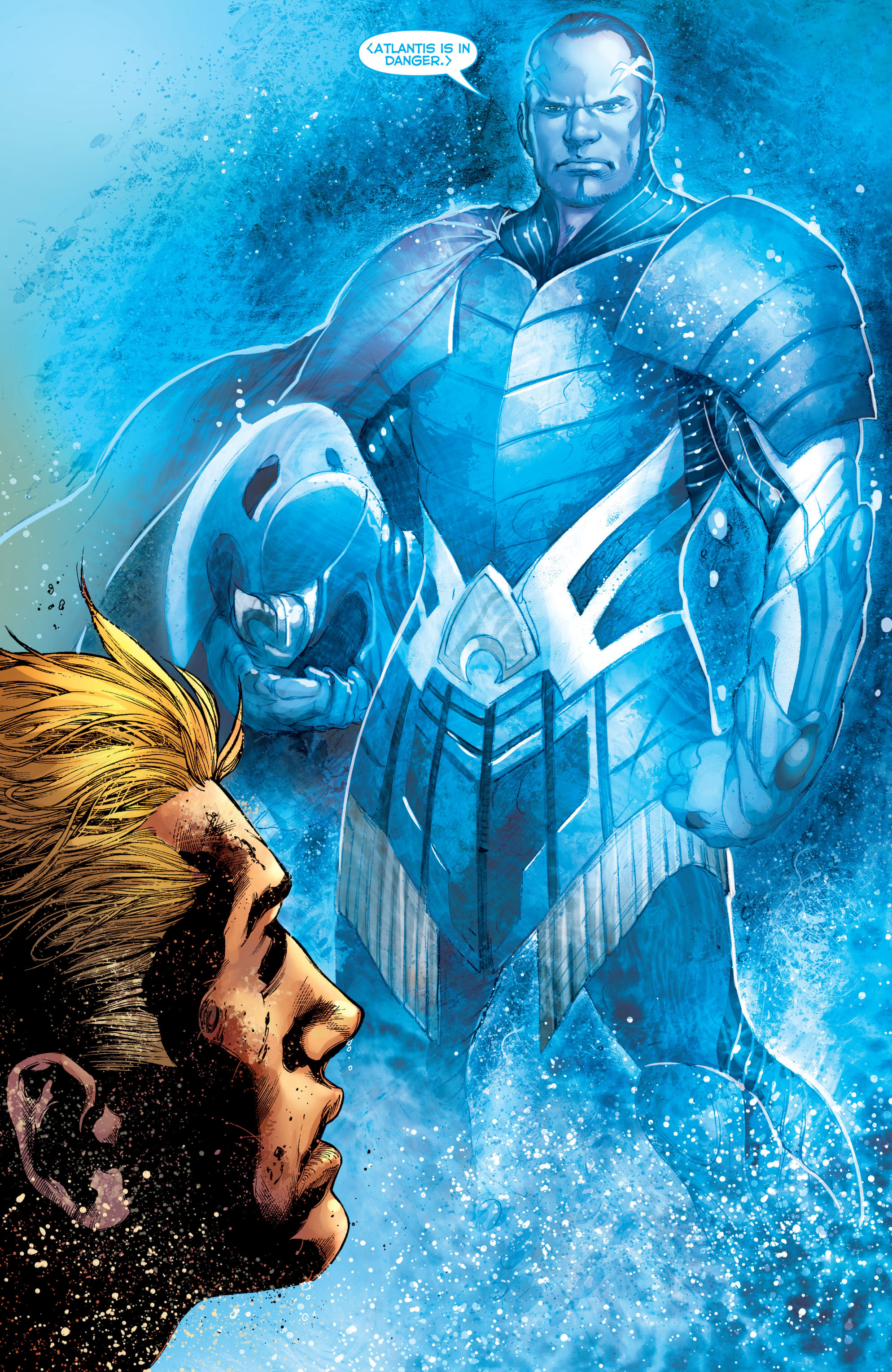 Read online Aquaman (2011) comic -  Issue #5 - 19