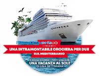 Logo '' Vinci il Sole di Dole'' : vinci gratis 56 buoni vacanza e 1 crociera MSC