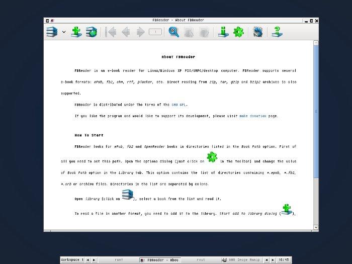 Centos 6/RHEL install FBReader Ebook Reader ~ Linux Antivirus
