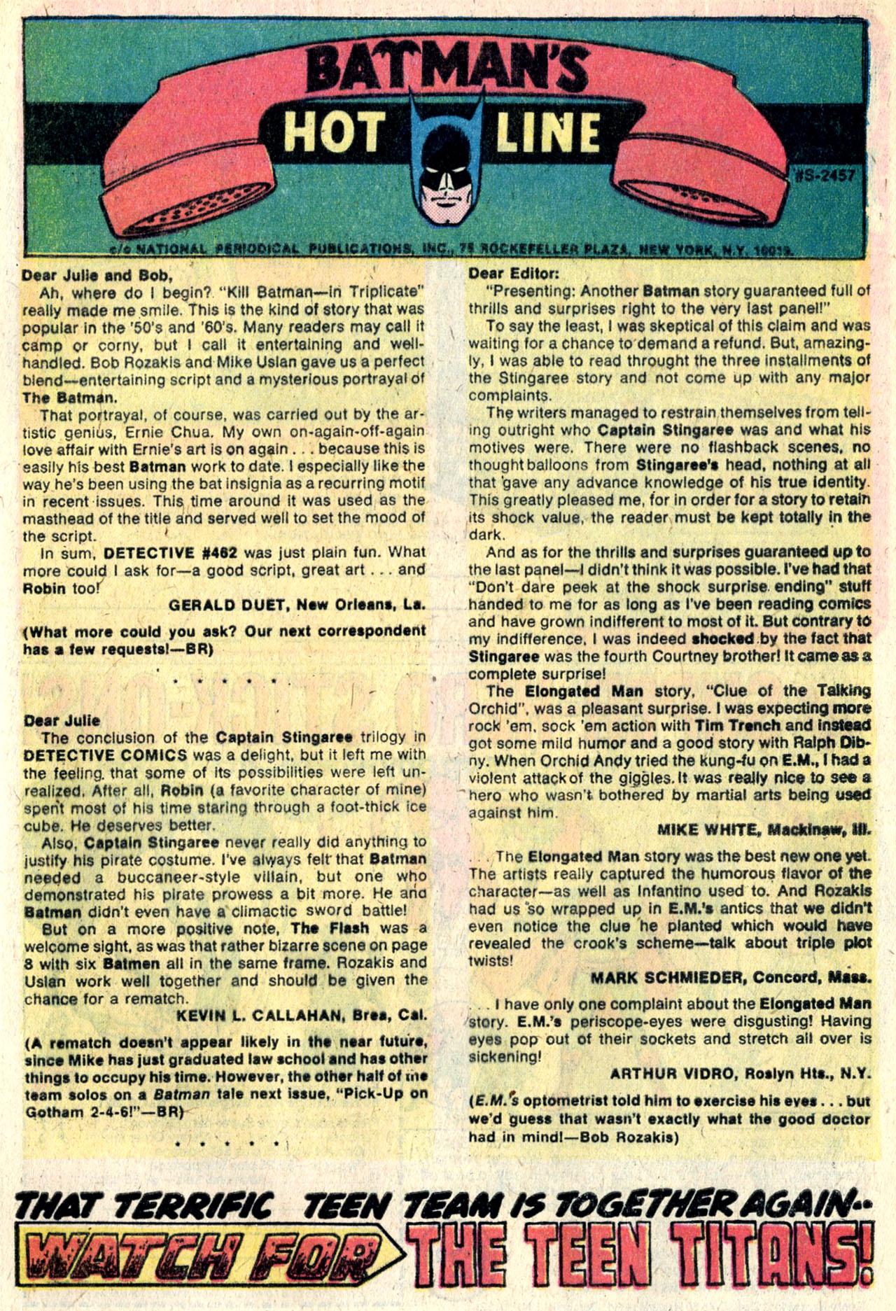 Detective Comics (1937) 466 Page 32