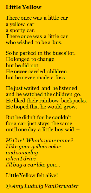 The Poem Farm Little Yellow A Story Poem