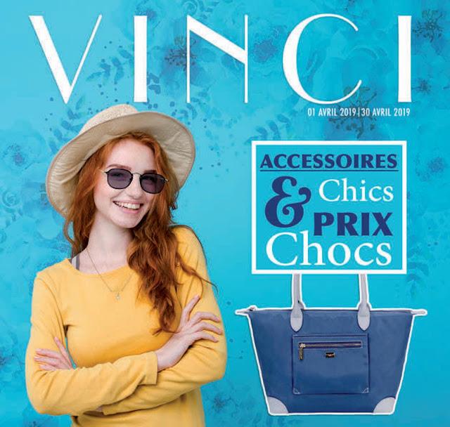 catalogue vinci maroc accessoires avril 2019
