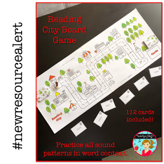 Reading City Board Game