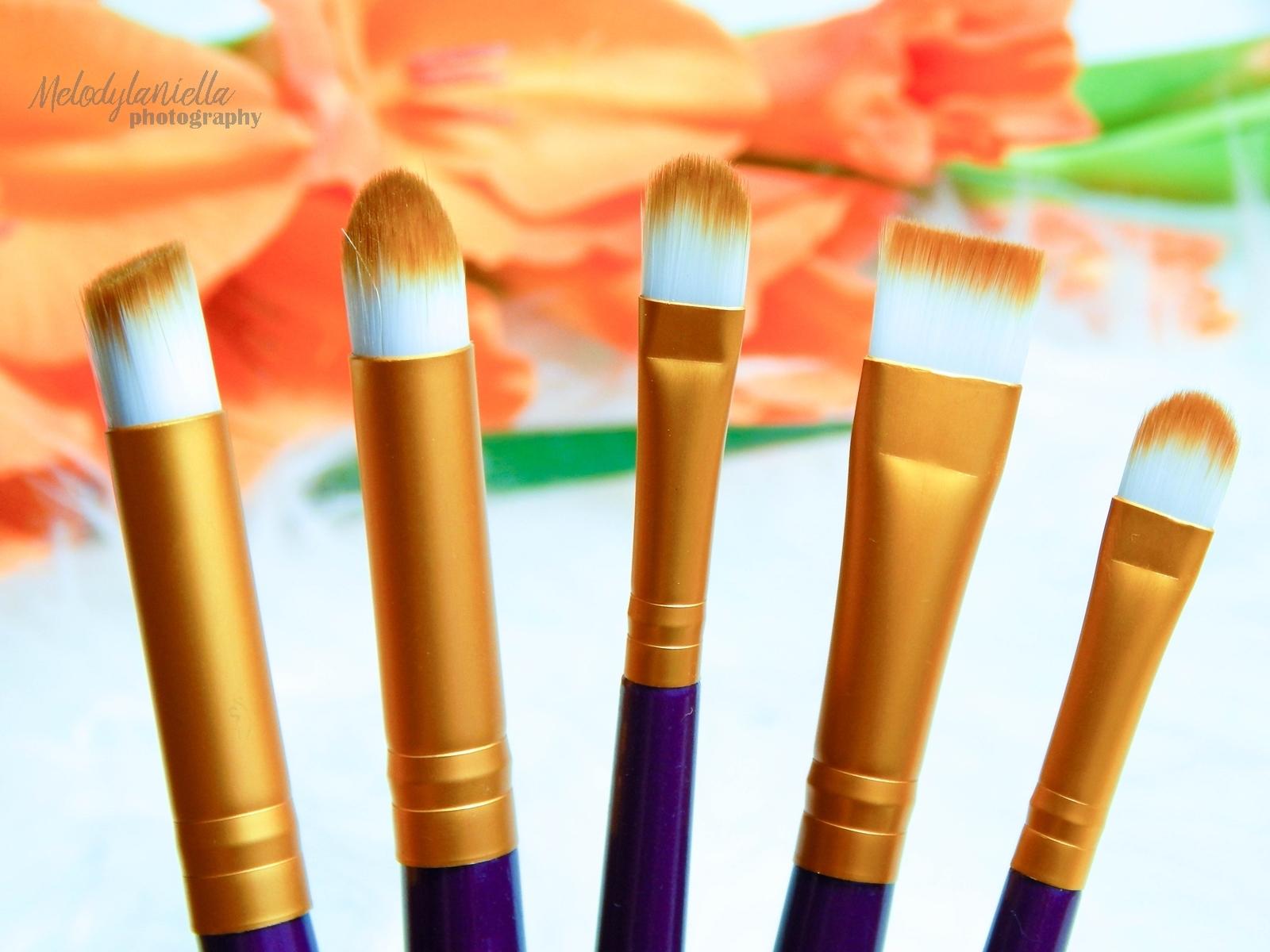 011 chińskie tanie pędzle do makijażu czy warto zakupy haul makeup brushes melodylaniella