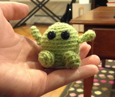 Tiny Amigurumi Monster