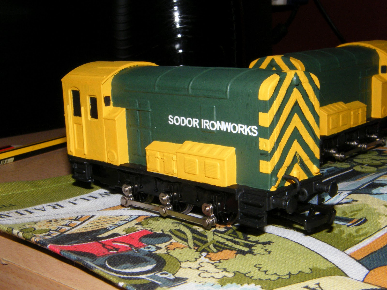 The World Of Thomas The Tank Engine Modelling: The Sodor