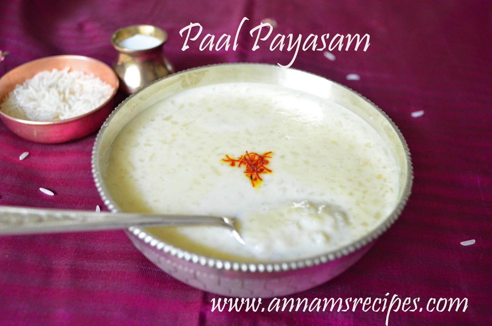 Paal Payasam