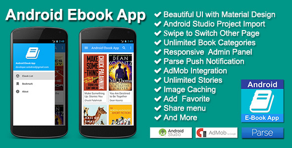 Source Code Application Ebook Android Studio - YouTubeErs-Ind