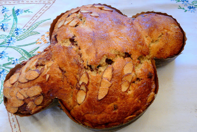 Colomba di Pasqua Italian Easter Bread Recipe