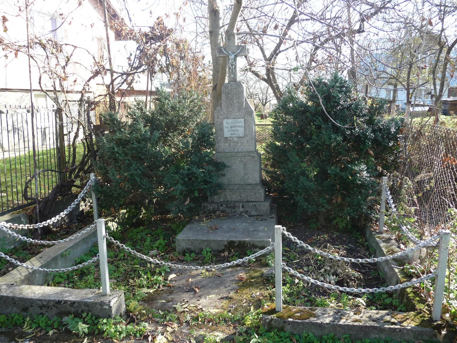 Добровляны. Памятник в честь отмены крепостного права