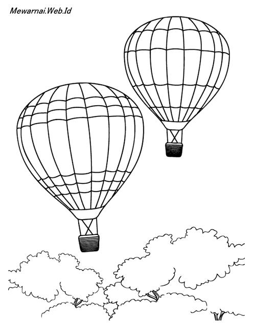 Gambar Sketsa Balon : gambar, sketsa, balon, Trend, Terbaru, Sketsa, Gambar, Balon