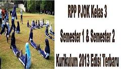 RPP PJOK Kelas 3 Semester 1 Dan Semester 2 Kurikulum 2013 Edisi Terbaru