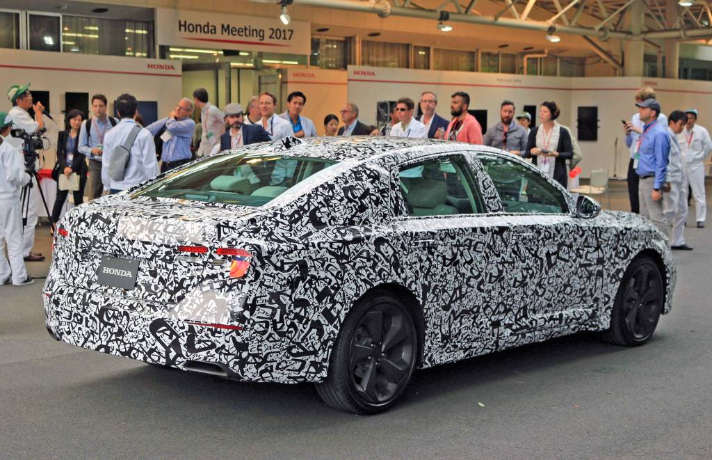 Lastly The Accord Will Be Offered With A Next Generation Two Motor Hybrid System Little Is Known About It But Honda Says Train All New And