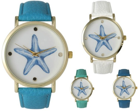 Starfish Women's Watches by Olivia Pratt