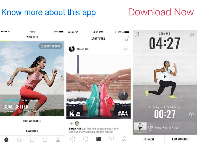 Download Nike Training Club for iPhone