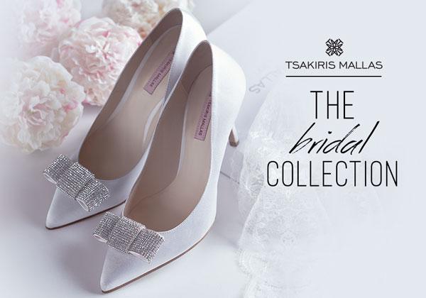 Εντυπωσιακά Νυφικά παπούτσια Tsakiris Mallas για να ξεχωρίζεις σε κάθε σου  βήμα στην πιο όμορφη στιγμή της ζωής σου 34ed9ff6ed9