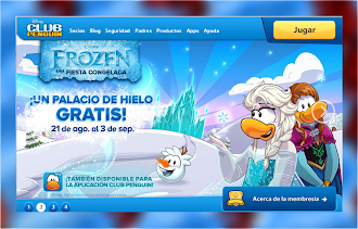 FROZEN EN CLUB PENGUIN!