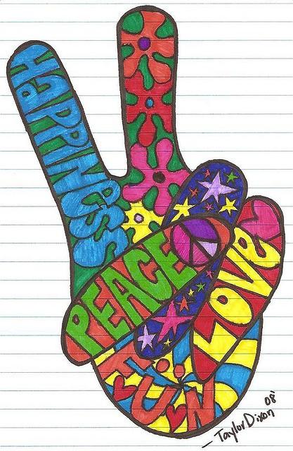 Como Transformarse y ser Hippie por un dia Regresion ...  Como Transforma...