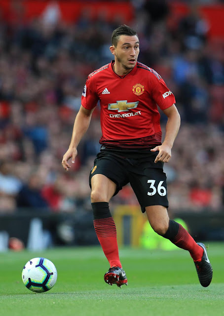 Manchester United announce Champions League squad with Matteo Darmian a shock inclusion