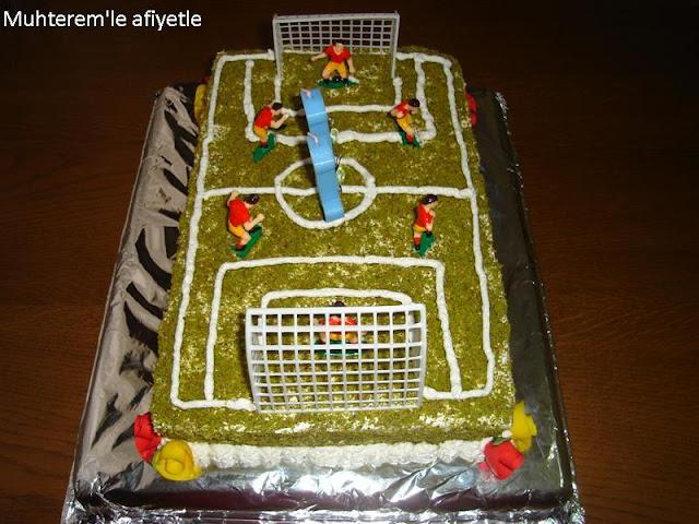 galatasaraylı futbol pastası