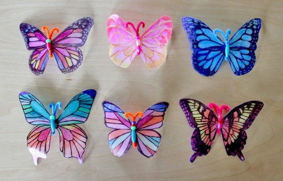 Milk Jug Butterfly Craft