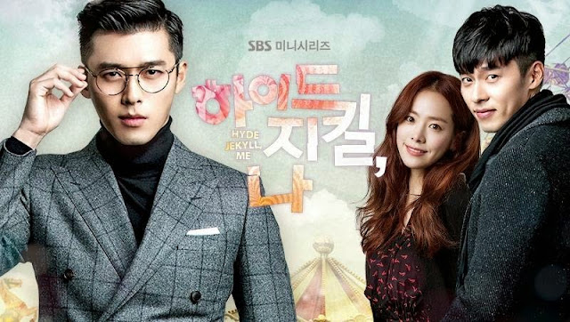 Hyde Jekyll Me kdrama, best romantic comedy, asian drama withdrawals, Hyun Bin and Han Ji Min