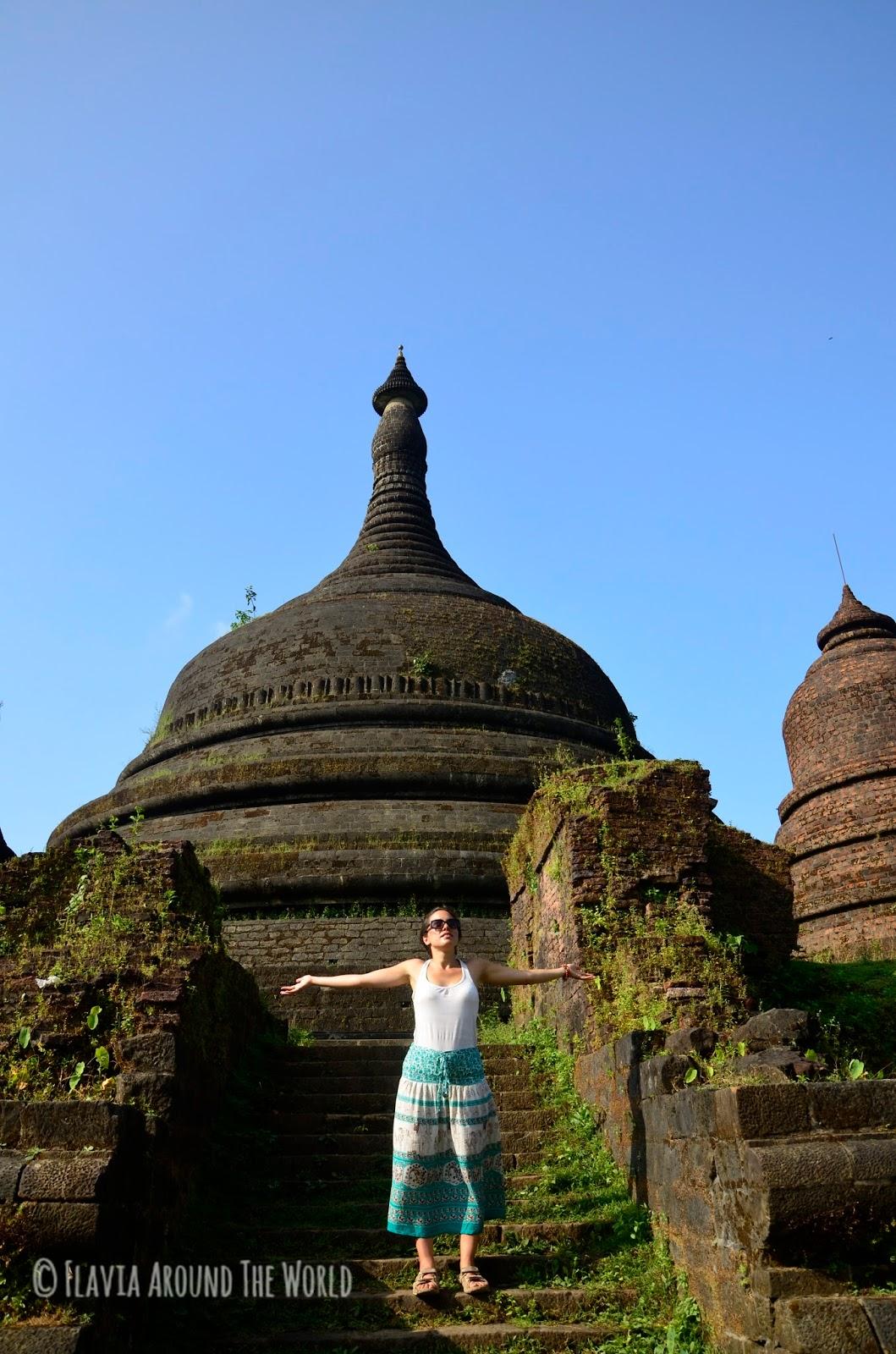 Ratanabon Pagoda, Mrauk U, Myanmar