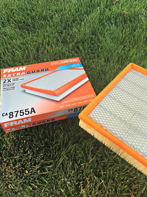 Fram Extra Guard Air Filter, Easy Car Care Safety Kit, How to put together a car safety kit, How to change an air filter, how to change an air filter on a 2008 Yukon Denali, How to locate your air filter, Best items for a car safety kit