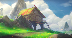 fantasy animated landscape hill wallpapers engine