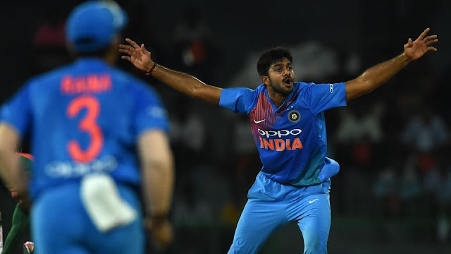 Nidahas Trophy: Not thinking too much about those dropped chances, says Vijay Shankar