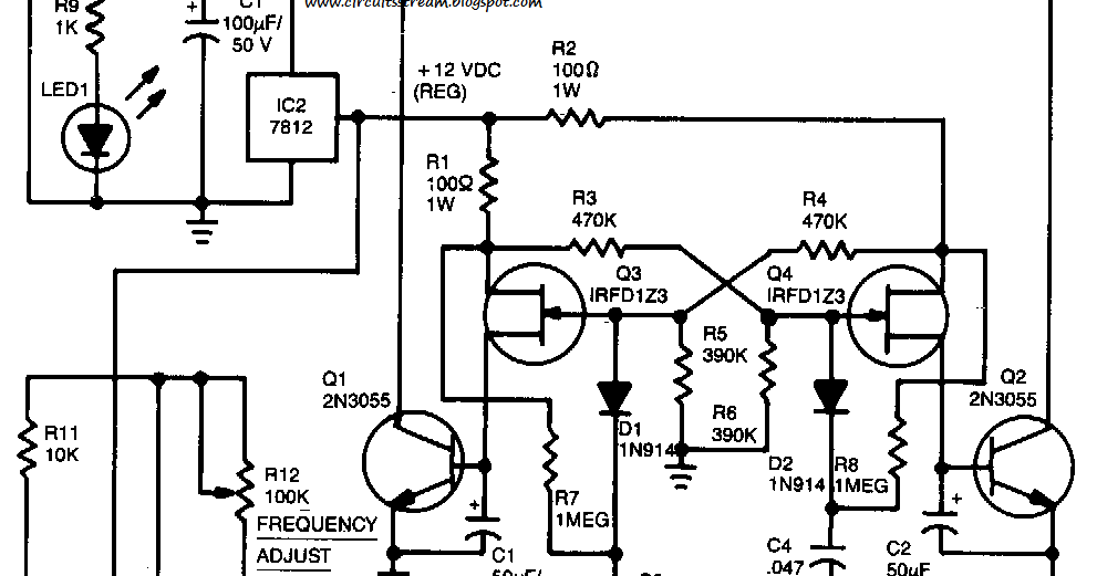 Tl494 Inverter Circuit Design