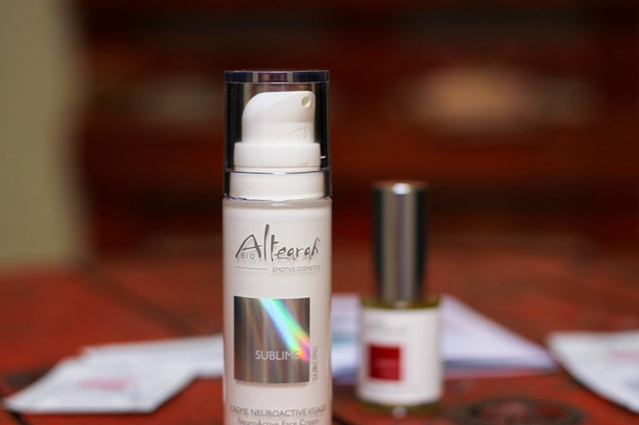 gamme visage altearah bio duo sublime crème visage neuroactive sublime