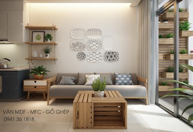 nội thất căn hộ phong cách á âu