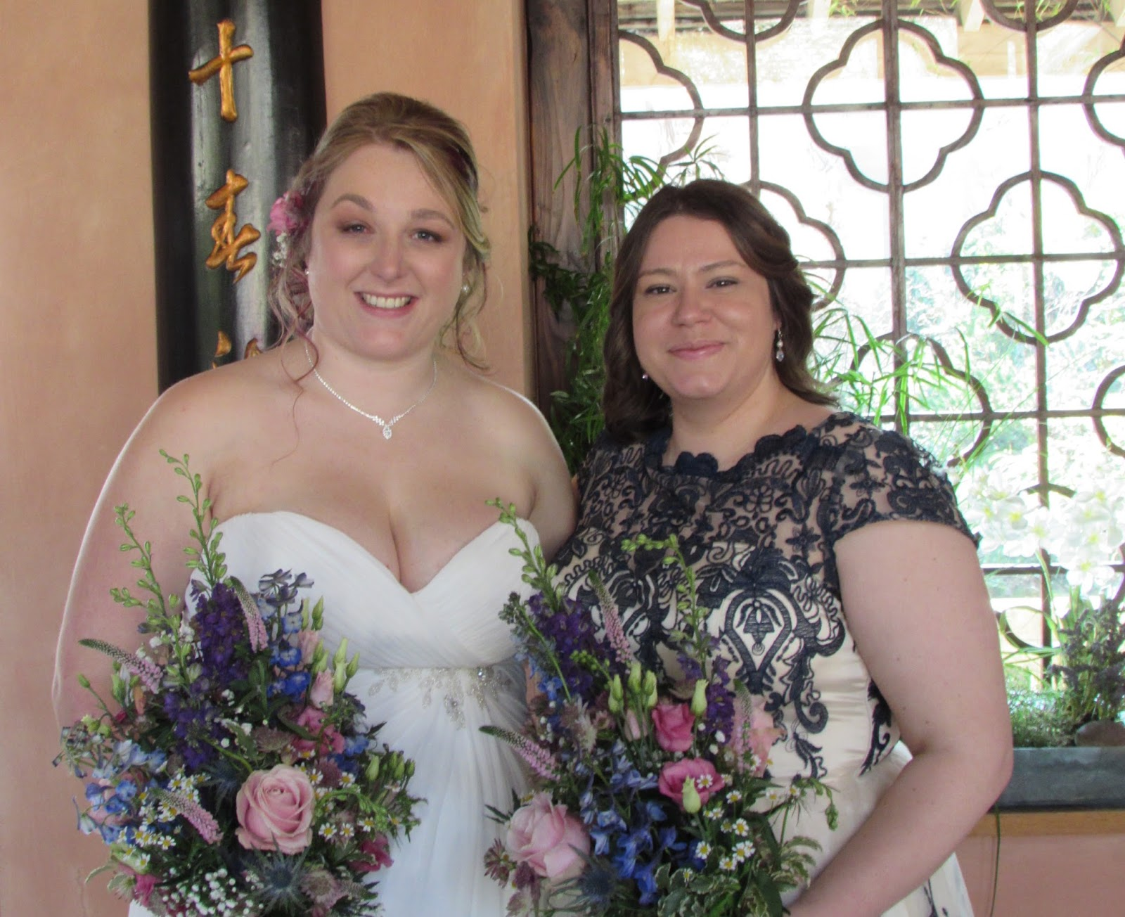 Me & the beautiful bride