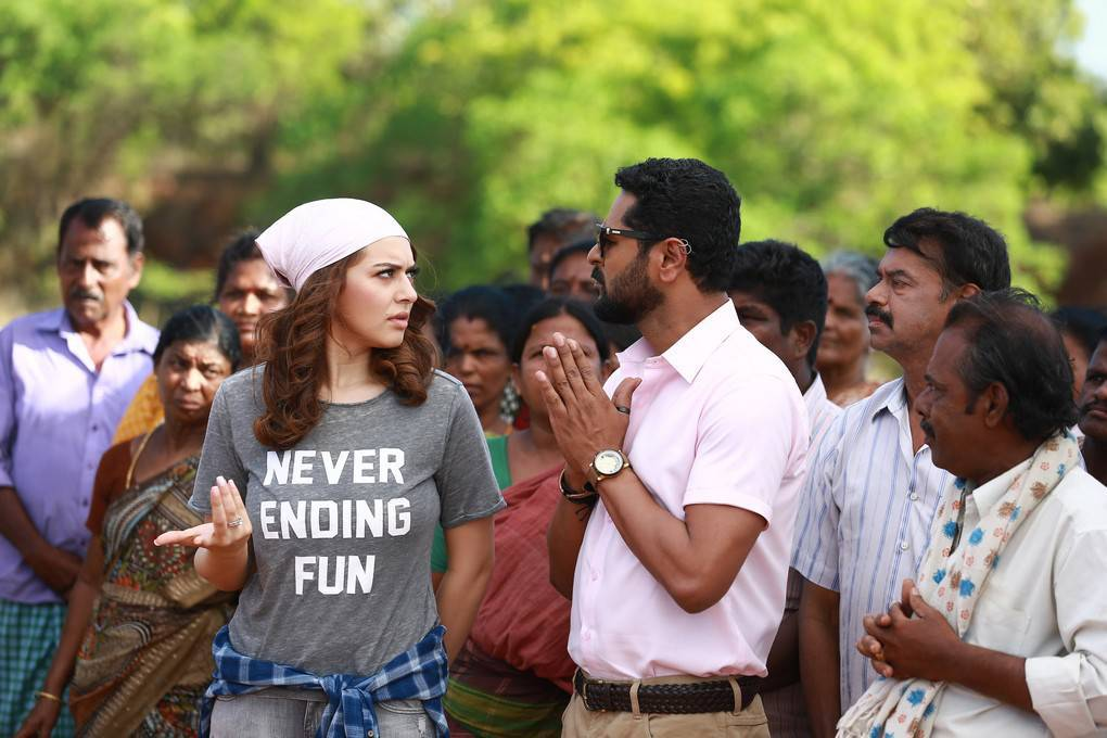 Hansika and Prabhu Deva-Gulebagavali Tamil Movie Stills