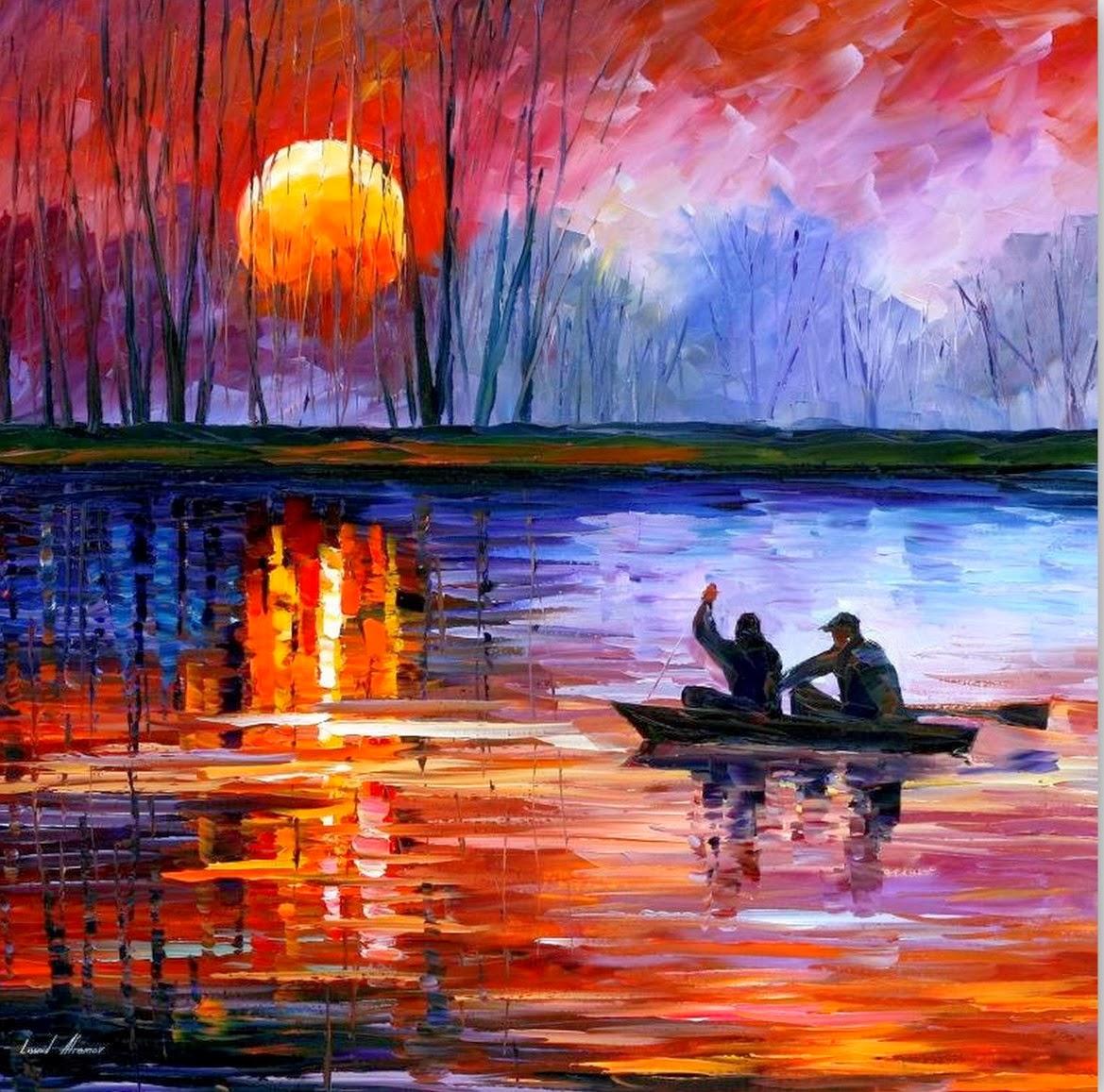 Cuadros modernos pinturas y dibujos cuadros de paisajes - Oleos decorativos ...