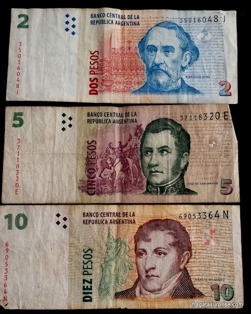 Cédulas de pesos argentinos