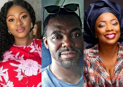 Yvonne Jegede's ex-hubby, Abounce sparks dating rumours with Bimbo Akintola as he calls her, 'My owner, 'sweetheart'