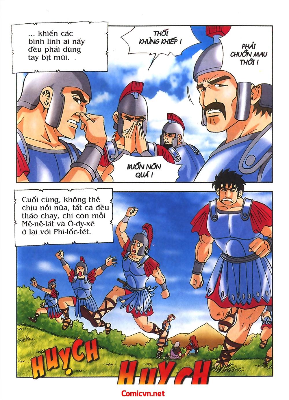 Thần Thoại Hy Lạp Màu - Chapter 54: Tiến về thành Troy - Pic 13