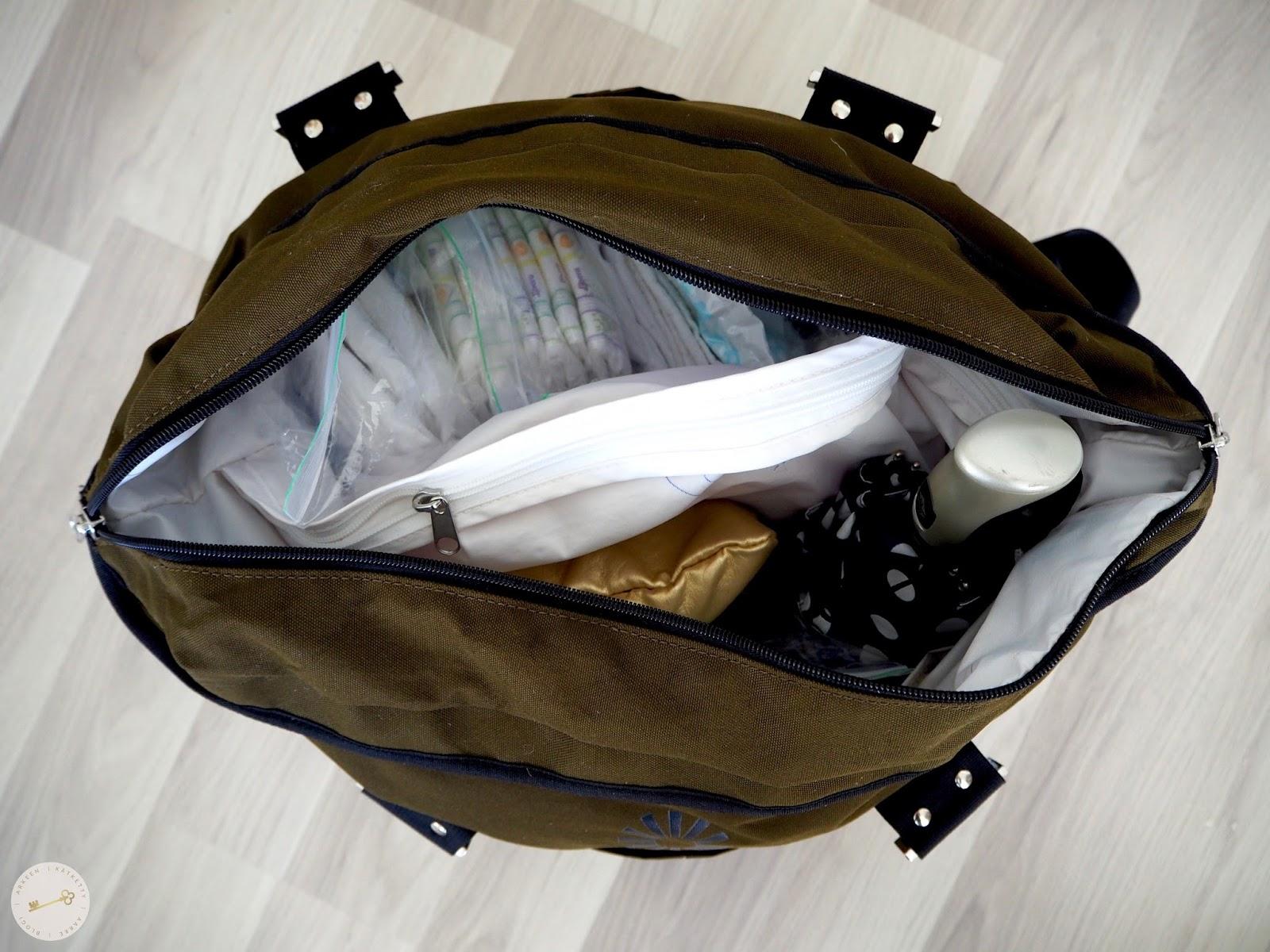 Hoitolaukku: Mitä sinne kannattaa pakata?