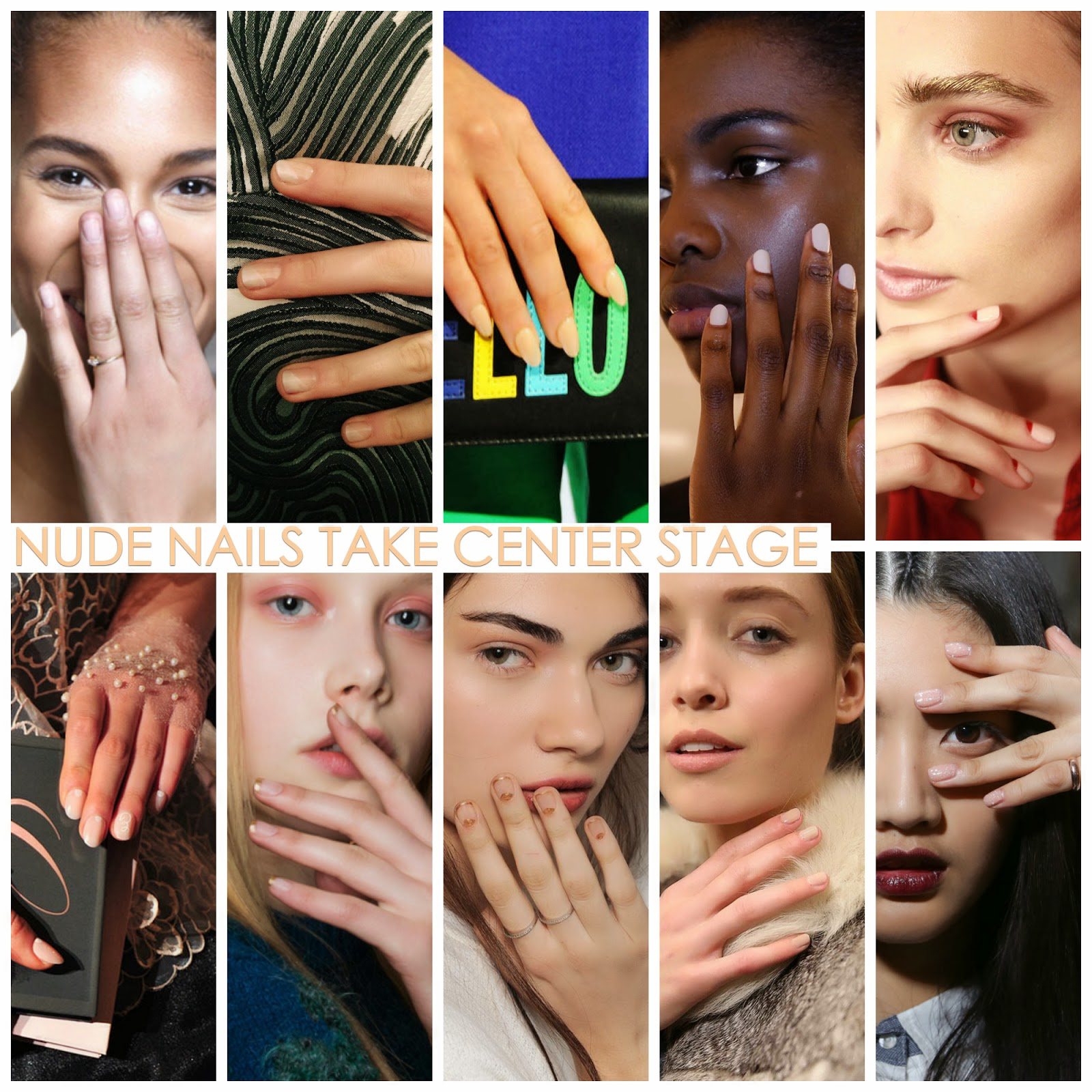 ideas for nude nail art and design