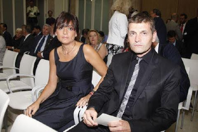 Tito Vilanova and his wife Montse Enchaure