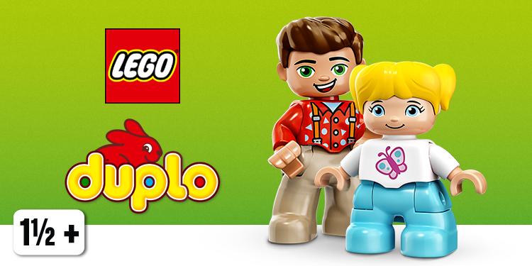 LEGO Duplo per bambini da 1 a 7 anni