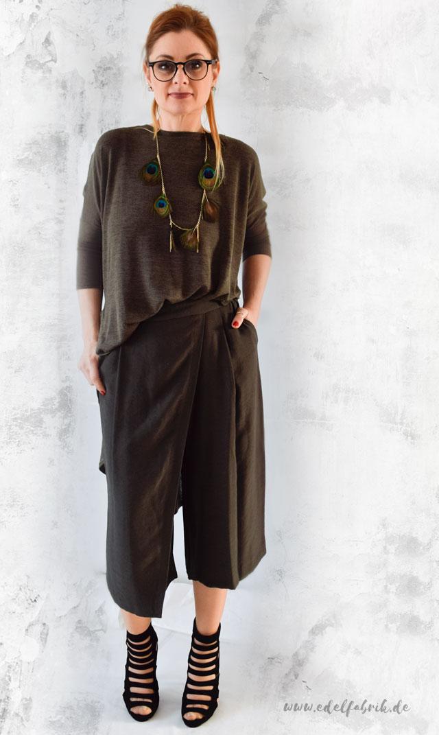 culottes mit kleid kombiniert the huntsman outfit die edelfabrik der 40 blog f r. Black Bedroom Furniture Sets. Home Design Ideas