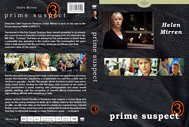 Prime Suspect Season 3 DVD Cover